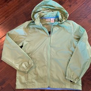 LL bean rain jacket women's size medium